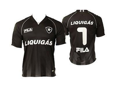 Camisaria Futebol Clube  4º uniforme do Botafogo-RJ 47178e703f970