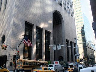 Base del Edificio Sony Nueva York
