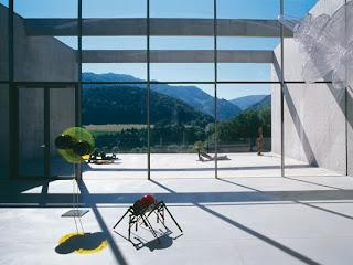Museo de Arte en los Alpes interior
