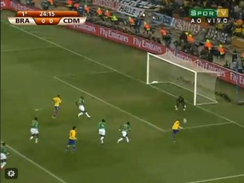Copa 2010 - Análise de Brasil 3 x 1 Costa do Marfim