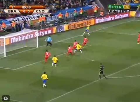 Copa 2010 - Análise de Brasil 2 x 1 Coreia do Norte