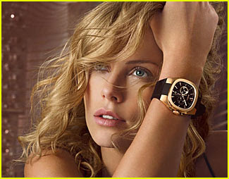 charlize theron breil watches