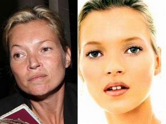 Super Models Without Make-Up Seen On www.vyperlook.com