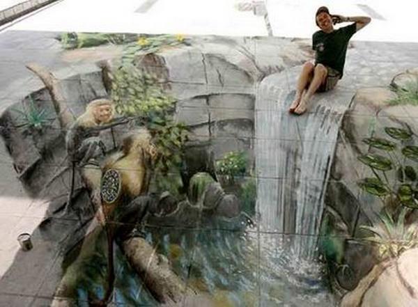 Cool High Quality Pix: Street 3D Art Wallpapers