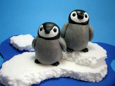 penguin polymer clay