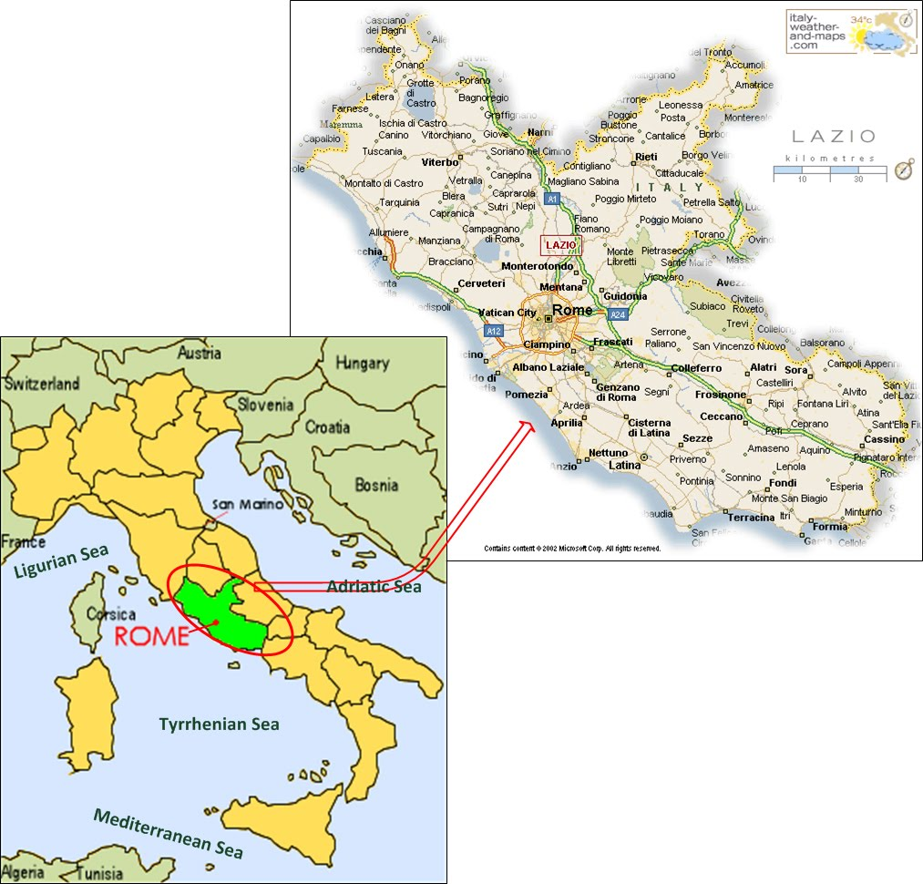 International Study of RE-Regions: Lazio Region, Italy