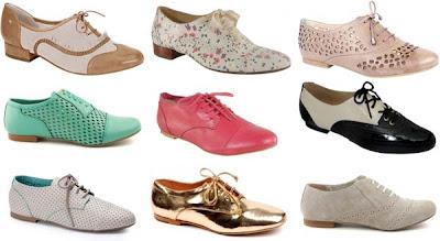 6d737529d Oxford  Os sapatos Oxford começaram a ser divulgados no início do verão