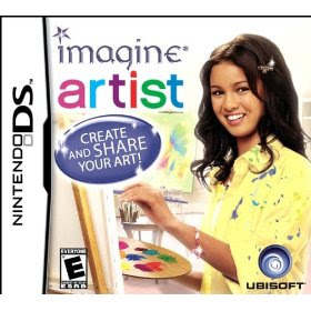 imagine artist by ubisoft for her nintendo ds system she plays her ds