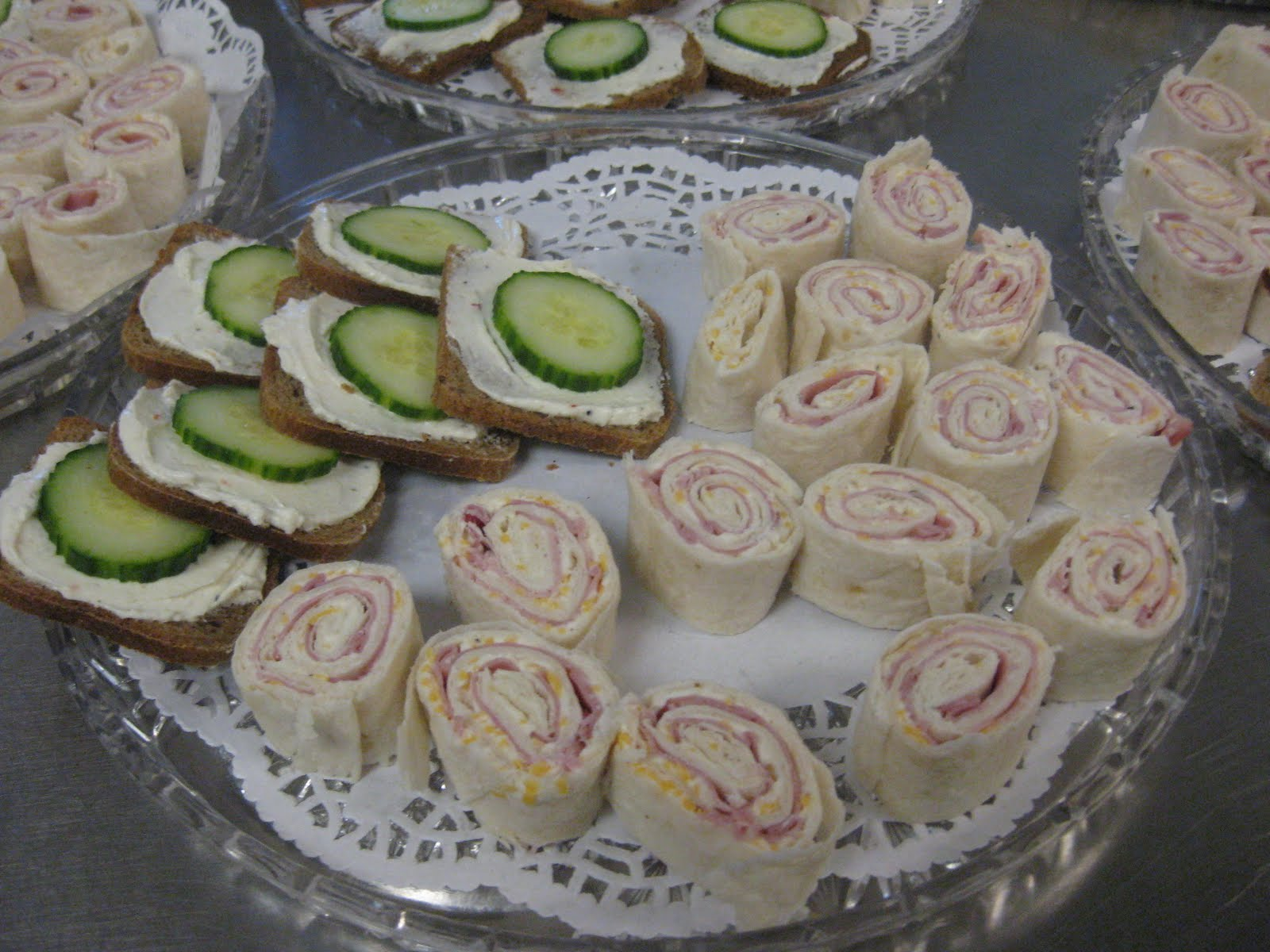 Teaparty: The Pious Sodality Of Church Ladies: Tea Party Food