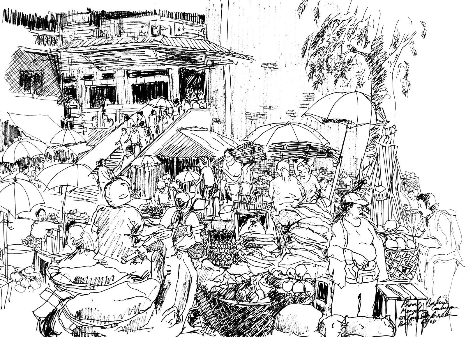 TERABAS Sekelumit Sketsa Bali