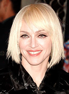 Madonna Hairstyles Celebrity Hairstyles 2012