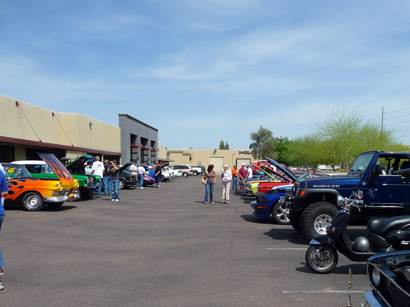 Car Quest: Photos From CarQuest Car Show In North Phoenix