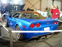 2009 Corvette ZR1 at Barrett-Jackson Auction