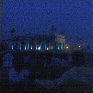 Red Fort valo- ja äänishow New Delhissä