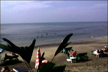 Anjuna Flea Market Beach vuonna 2005
