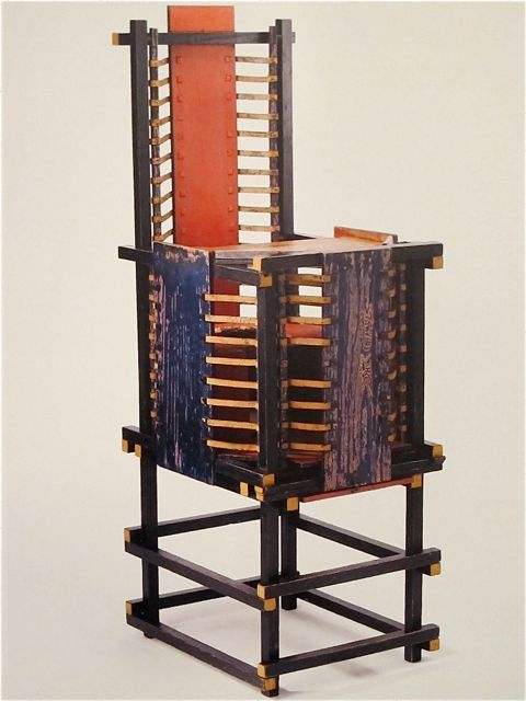Mondoblogo 24 Gerrit Rietveld Chairs You Have Probably
