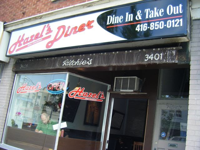 Hazels Restaurant Yonge St North York Ontario
