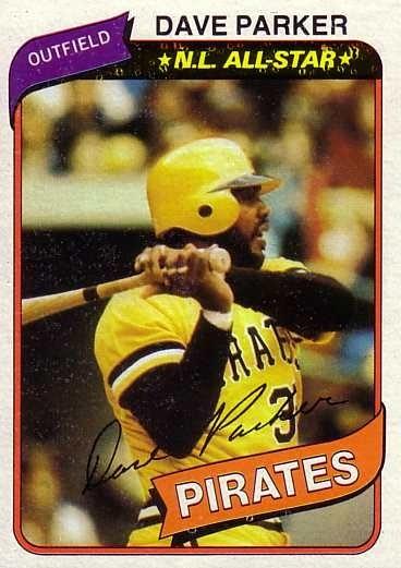 1980 Topps Baseball 310 Dave Parker