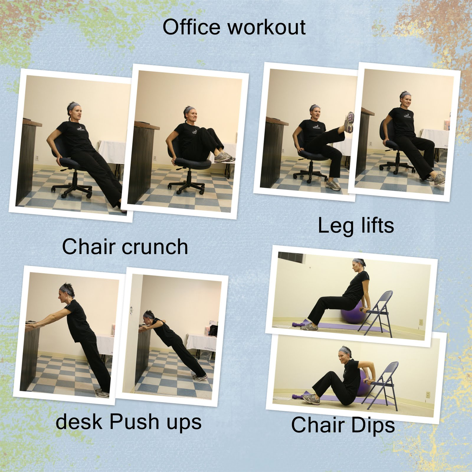 Office Chair Exercises Office Chair Exercises