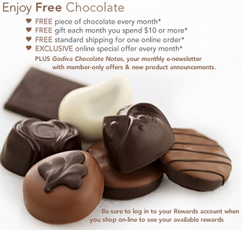 godiva chocolate of the month club