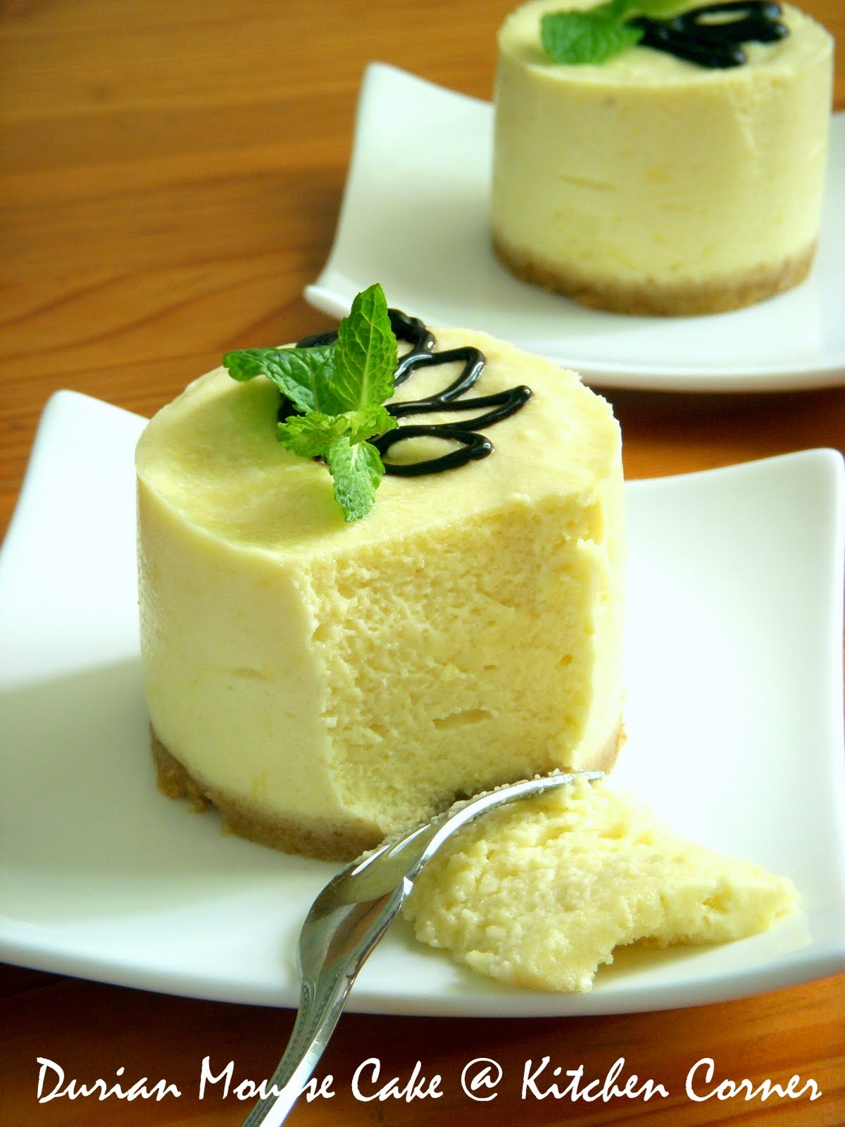 Banana Mousse Cake Recipe