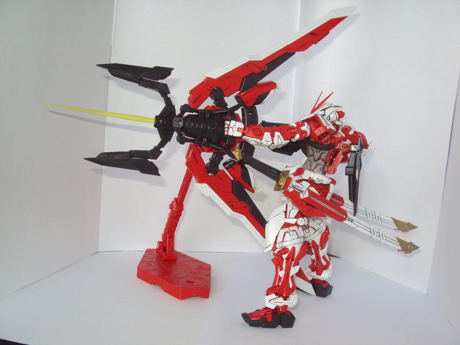 Project V Hobby Mg Gundam Astray Red Frame Kai