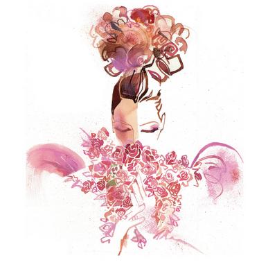 A Couture Life Watercolor Artist Bill Donovan