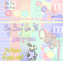 Free Easter Digital Scrapbook Set