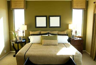 Bilik Tidur Ini Menggunakan Warna Hijau Sebagai Feature Wall Nya Hiasan Dalamannya Agak Simple Dan Cukup Kemas Penggunaan Yang Tidak Begitu Terang