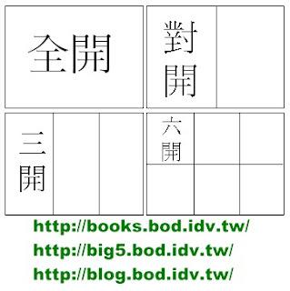 bod-idv-tw小書製作: 《小書製作》活頁紙 18開 = B 5的尺寸嗎?