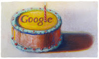 Google's Doodle – Marking the 12th Birthday of the Search Giant