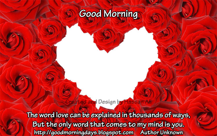 Good Morning Love Quotes Sayings: Quotes About Love: Good Morning Love Quotes
