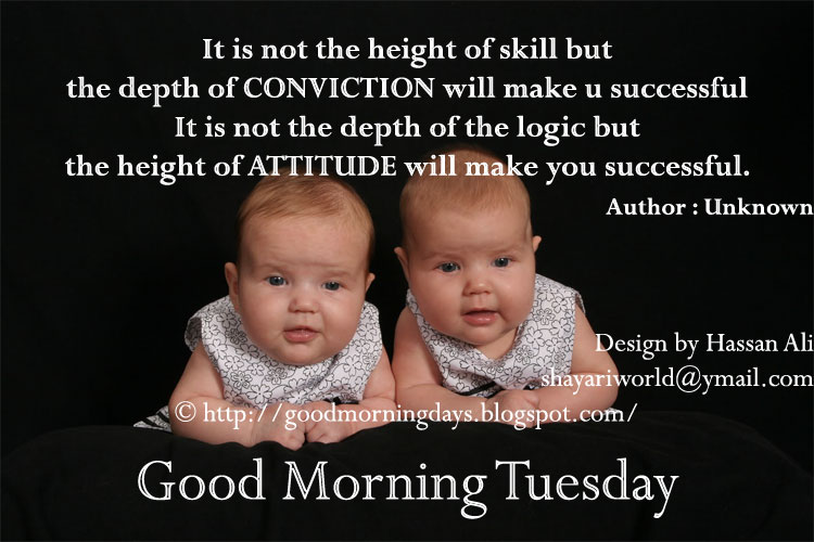 Good Morning Tuesday Motivational Quotes Archidev