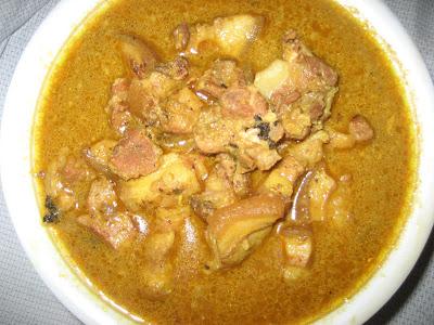 Pork Curry Paleo Power Challenge 90