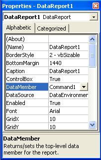 Membuat Laporan di Visual Basic 6
