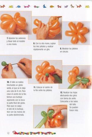 como decorar una silla con moos y globos - Como Hacer Flores Con Globos