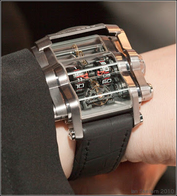 Rebellion T-1000 Vertical Roller Timepiece with 1000 Hour Power Reserve