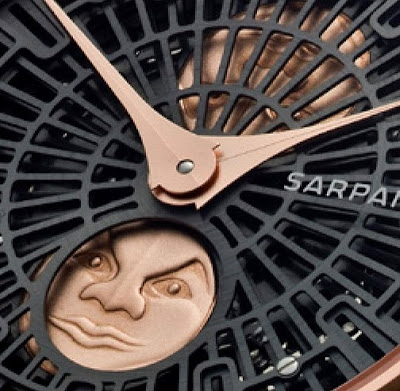 Stepan Sarpaneva Presents Redesigned Gold Korona K3 Moonphase at Baselworld