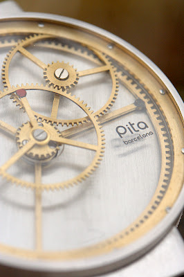 The Pita Windmills (Molinos) Prototype from AHCI Watchmaker Aniceto Jiménez Pita of Barcelona