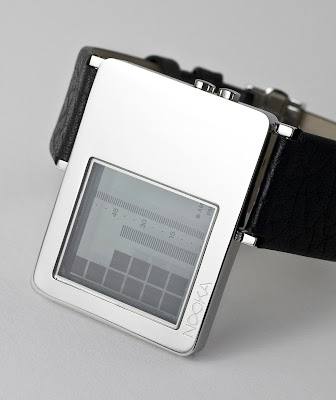 Nooka ZAZ Watch Translucent See-Thru Display - Your Skin Provides the Contrast To Read the Time!