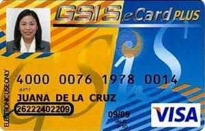 Valid Visa Card Number GSIS eCard Plus: How t...