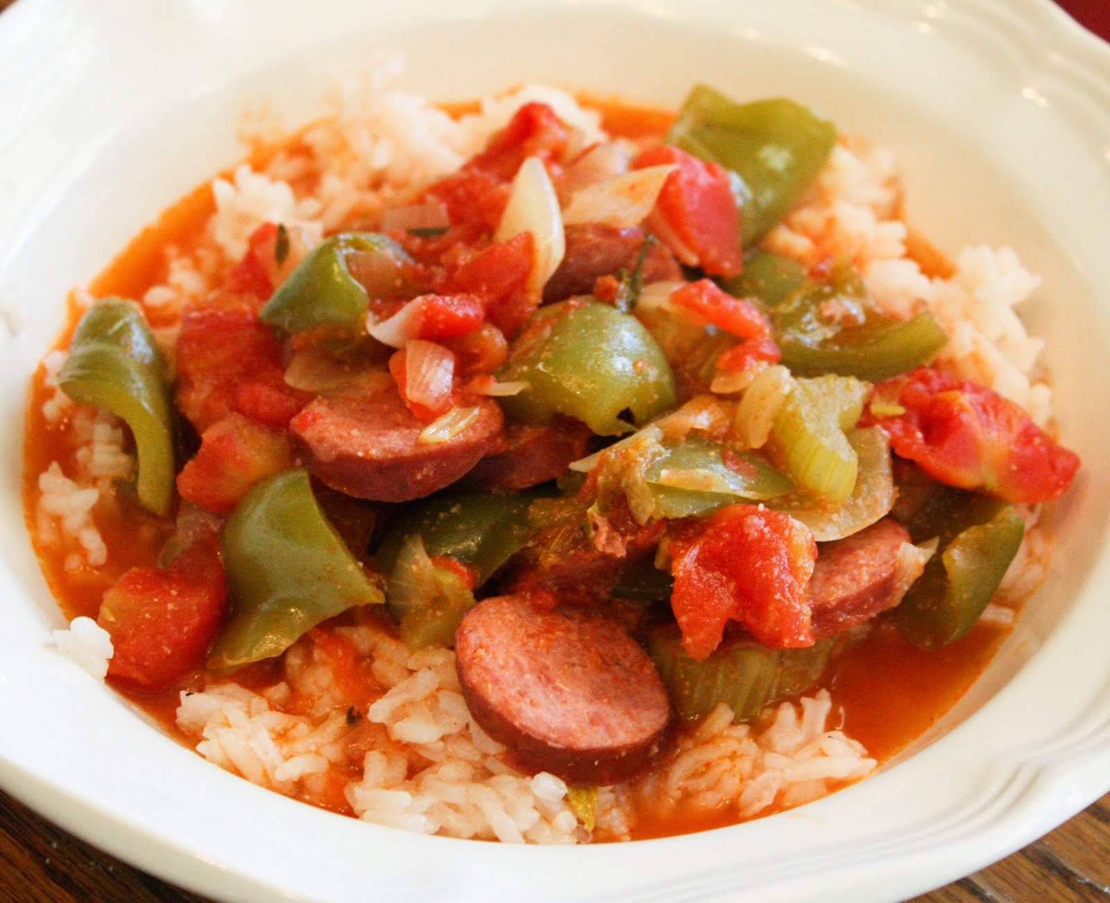 Image result for Rice with Sausage and Peppers