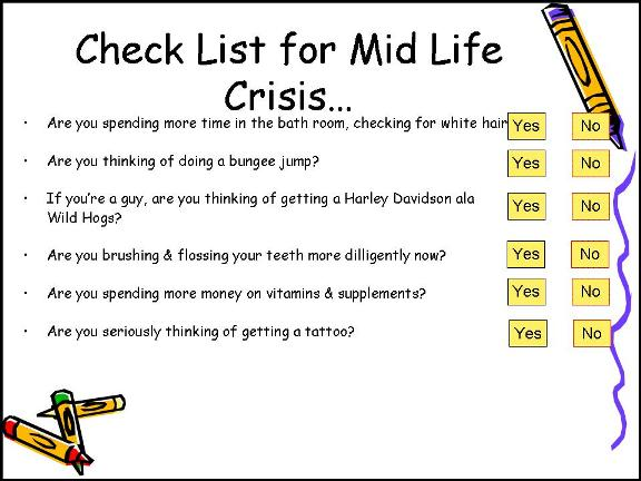 How to deal with midlife crisis men
