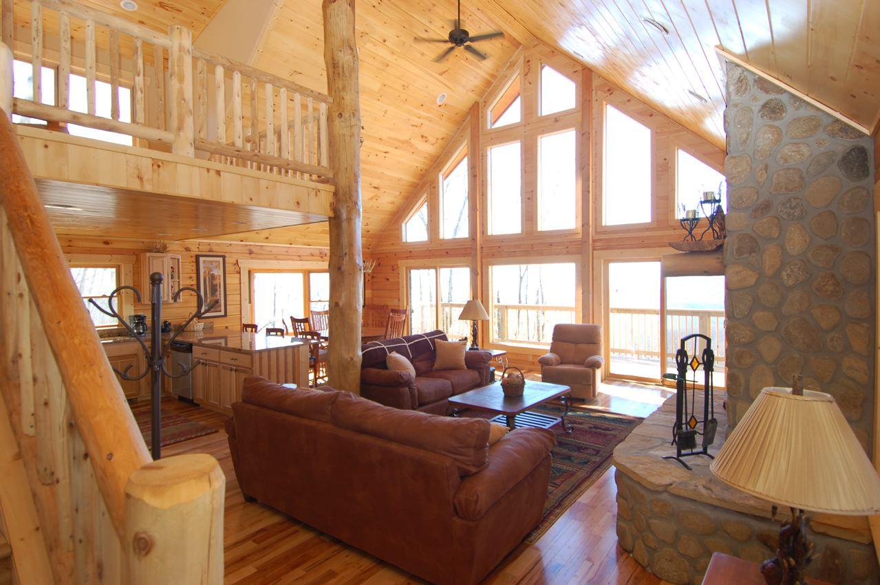 Astonishing North Carolina Cabins Mountain Vacation Rentals And Interior Design Ideas Oxytryabchikinfo