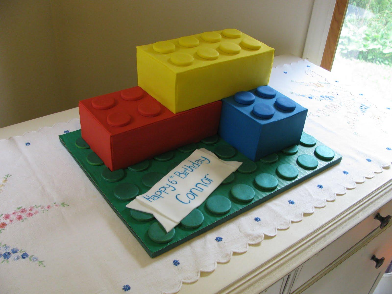 The Cake Mistress Lego Cake