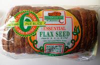 The Vegan Virgin Flaxseed Bread