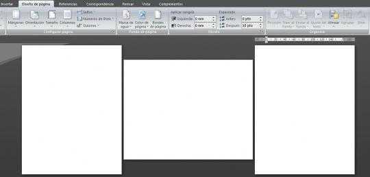 Cómo girar o rotar una hoja 90° en Microsoft Office Word