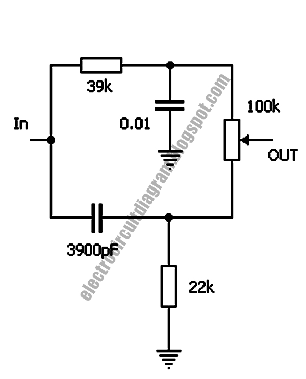 electro circuit diagram  big muff distortion pedal tone control circuit