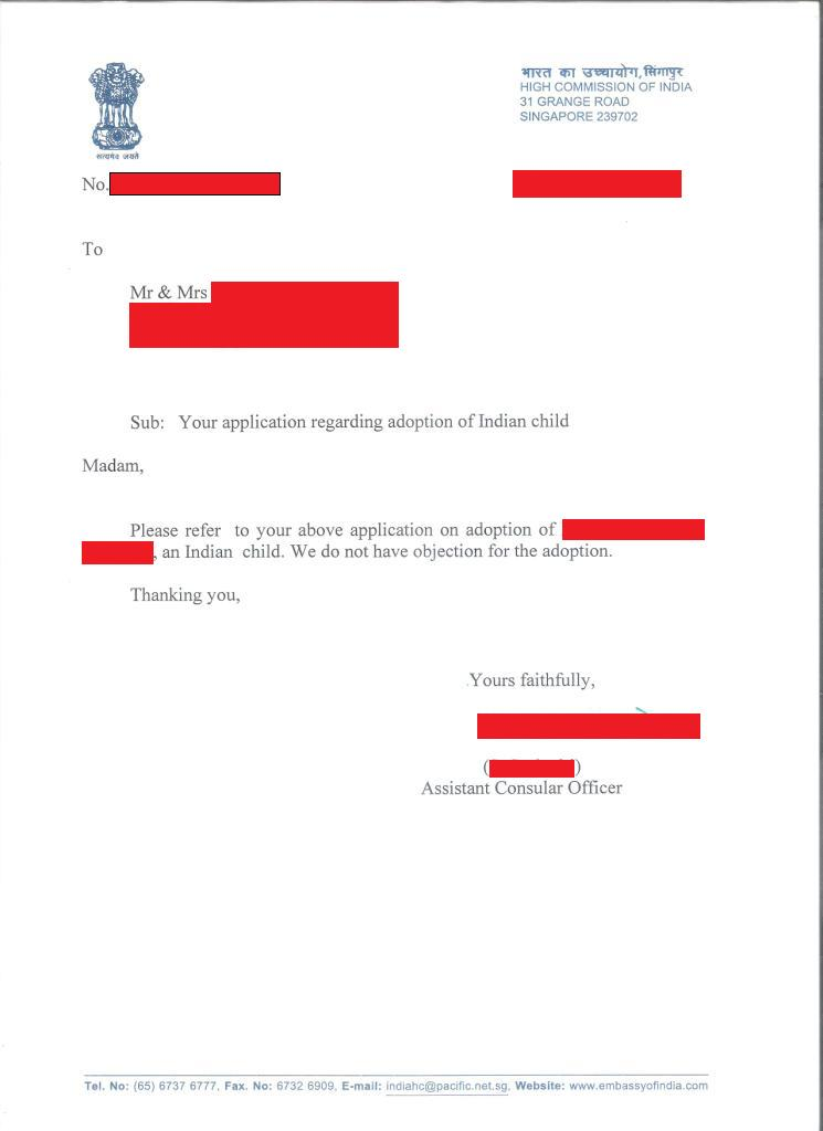 Awesome Sample No Objection Letter Pictures - Guide to the Perfect ...