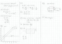 Mr Allan's Maths Blog: Year 7 End-of-Year Test Revision